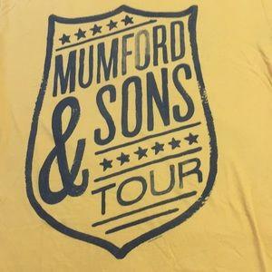 Mumford & Sons Tour T shirt